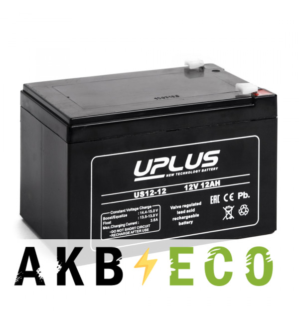 Аккумуляторная батарея Leoch Uplus US12-12 | 12V 12 Aч (151x98x101)