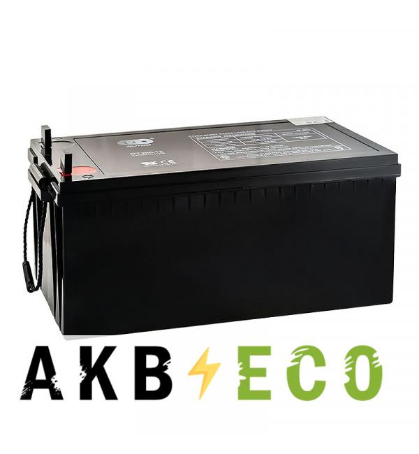 Аккумуляторная батарея OUTDO VRLA 12V 200 Ah (OT200-12) 522x240x245