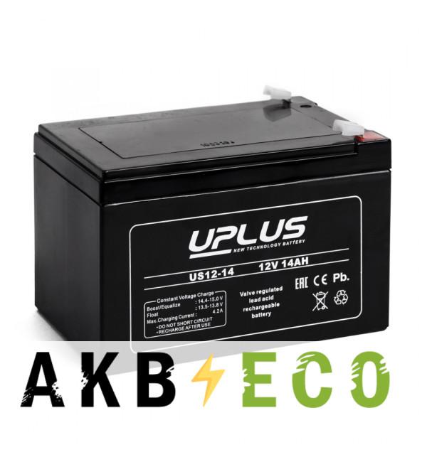 Аккумуляторная батарея Leoch Uplus US12-14 | 12V 14 Aч (151x98x101)