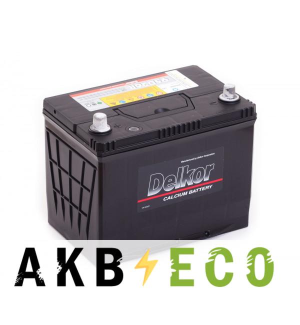 Автомобильный аккумулятор Delkor 95D26R (80L 680A 260x173x225)