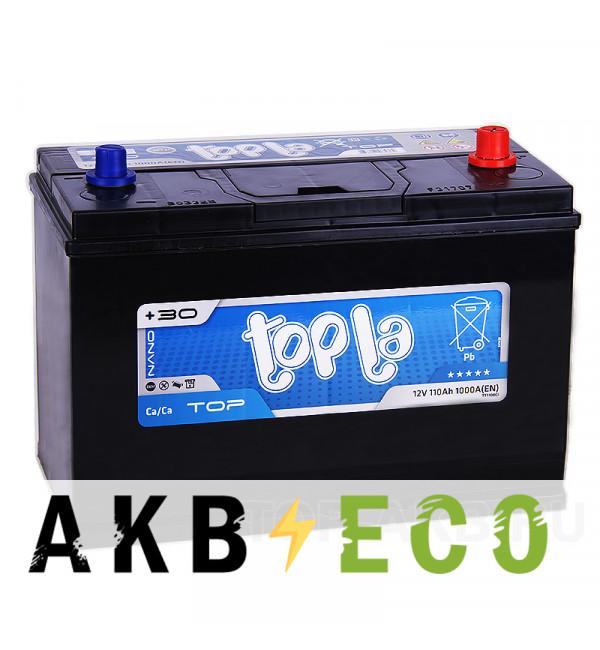 Автомобильный аккумулятор Topla Top TT110BCI 110R (1000А 330x173x240) 118410 BCI31S SMF