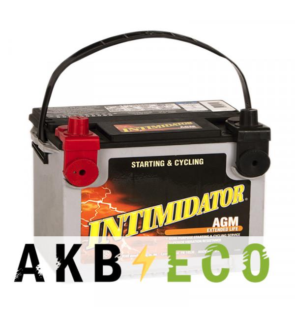 Автомобильный аккумулятор Deka Intimidator AGM 75L 775А (261x175x200) 9A78DT 4 клеммы