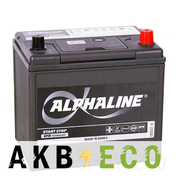 Автомобильный аккумулятор Alphaline EFB 90D23L 65R (670A 230x168x220) Q85 Start-Stop