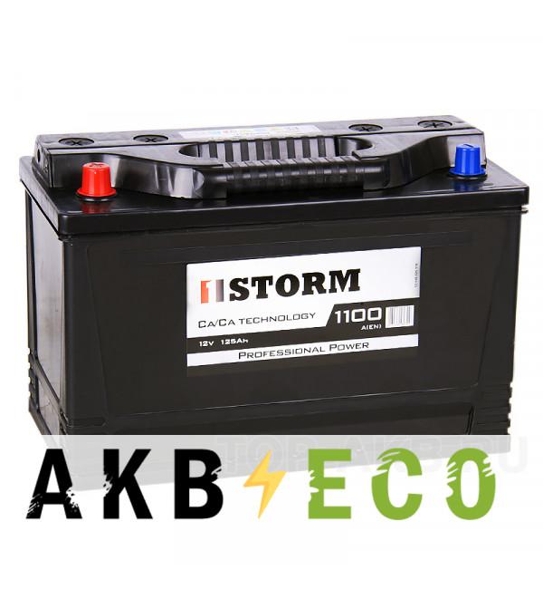 Автомобильный аккумулятор Storm Asia 125L 1100A 350x175x230