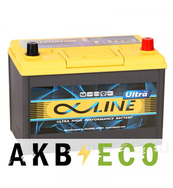 Автомобильный аккумулятор Alphaline Ultra 135D31L 105R 900A 306x173x225