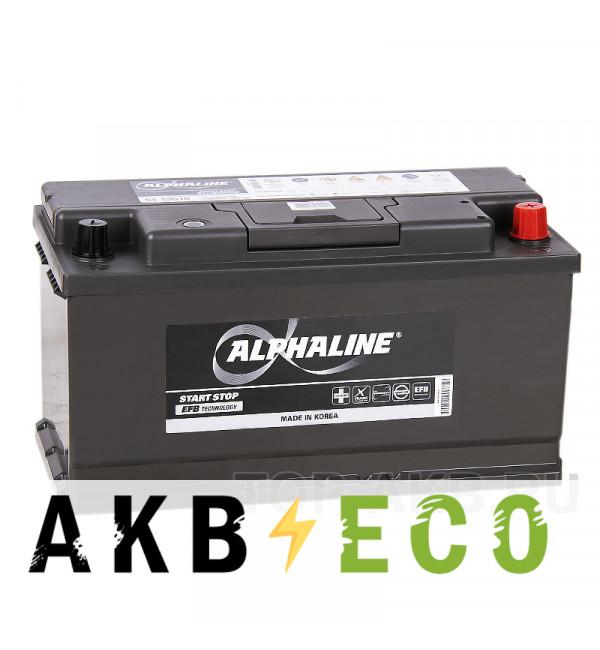 Автомобильный аккумулятор Alphaline EFB 95R (900A 353x175x190) SE 59510 Start-Stop