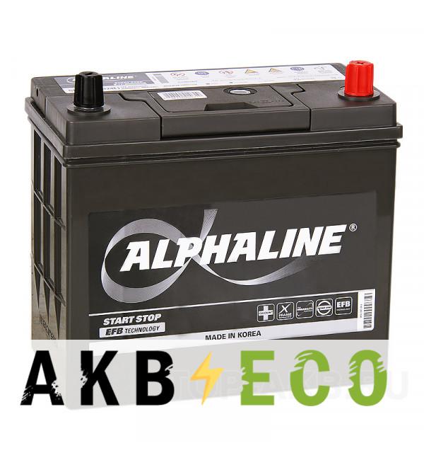 Автомобильный аккумулятор Alphaline EFB 70B24L 45R (460A 238x129x227) N55 Start-Stop