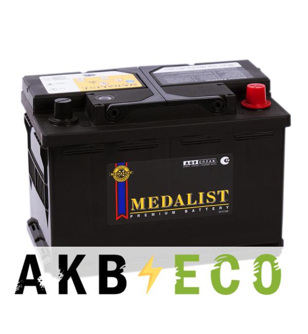 Автомобильный аккумулятор Medalist 57412 (74R 700A 279x175x190)