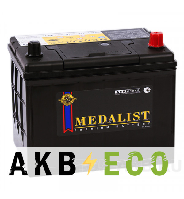 Автомобильный аккумулятор Medalist 95D26L (85R 730A 260x173x225)