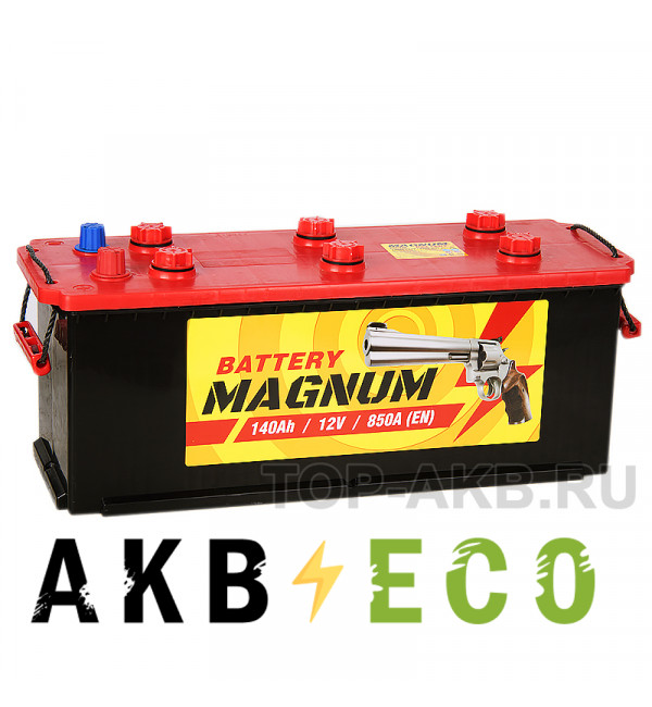 Автомобильный аккумулятор Magnum 140 рус 850A 513x190x230