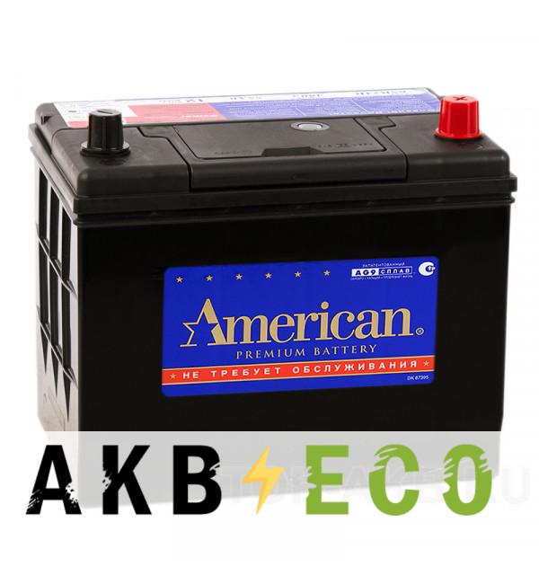 Автомобильный аккумулятор American 95D26L (85R 730A 261x173x225)