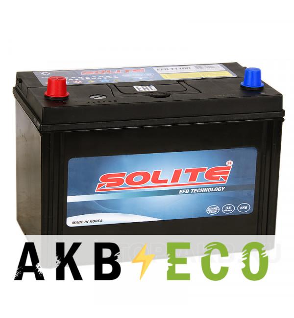 Автомобильный аккумулятор Solite EFB T110R Start-Stop (90L 880A 306x173x225)