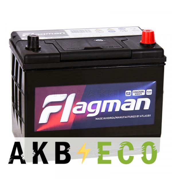 Автомобильный аккумулятор Flagman 95D26L 80R 700A 260x172x220