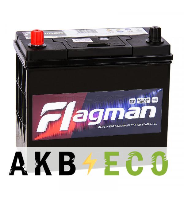 Автомобильный аккумулятор Flagman 70B24R 55L 500A 232x127x220