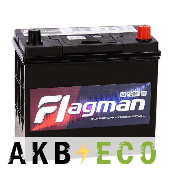 Автомобильный аккумулятор Flagman 70B24LS 55R 490A 232x127x220