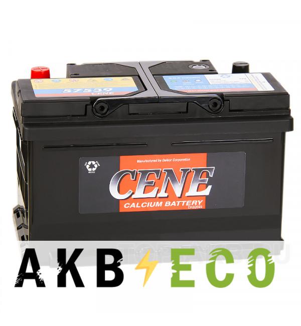 Автомобильный аккумулятор Cene 57539 (75R 630A 278x175x175)