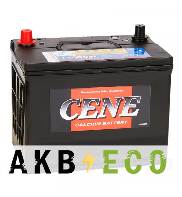 Автомобильный аккумулятор Cene 110D26L (90R 680A 260x173x225)