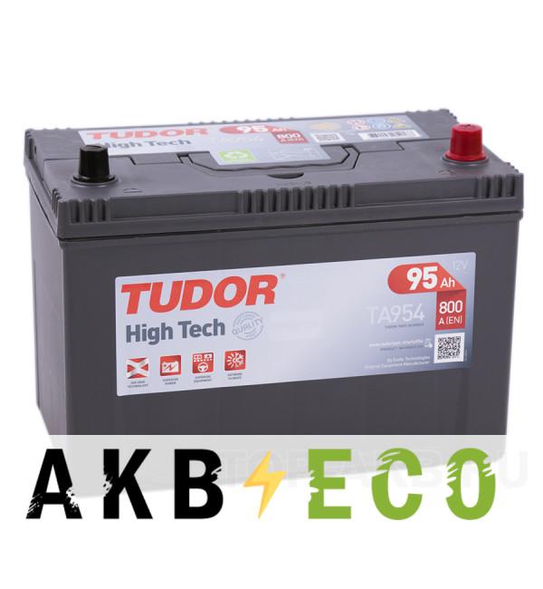 Автомобильный аккумулятор Tudor High-Tech 95R (800A 306x173x222) TA954