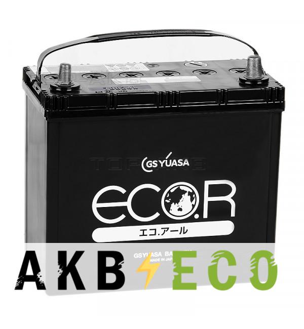 Автомобильный аккумулятор GS Yuasa EC 70B24L (52R 500A 238x128x227) ECO.R (EC)