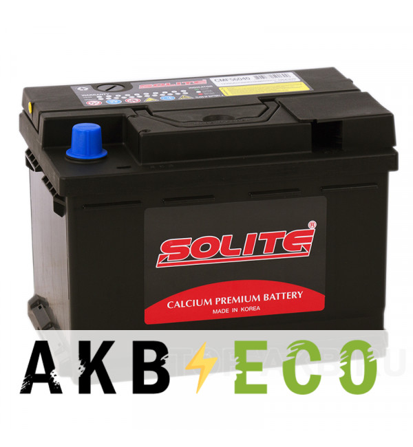 Автомобильный аккумулятор SOLITE 56040 (60R 590А 242x175x175)