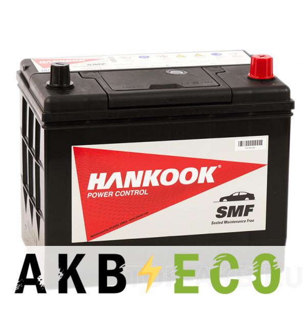 Автомобильный аккумулятор Hankook 80D26L (70R 600A 260х173х225)