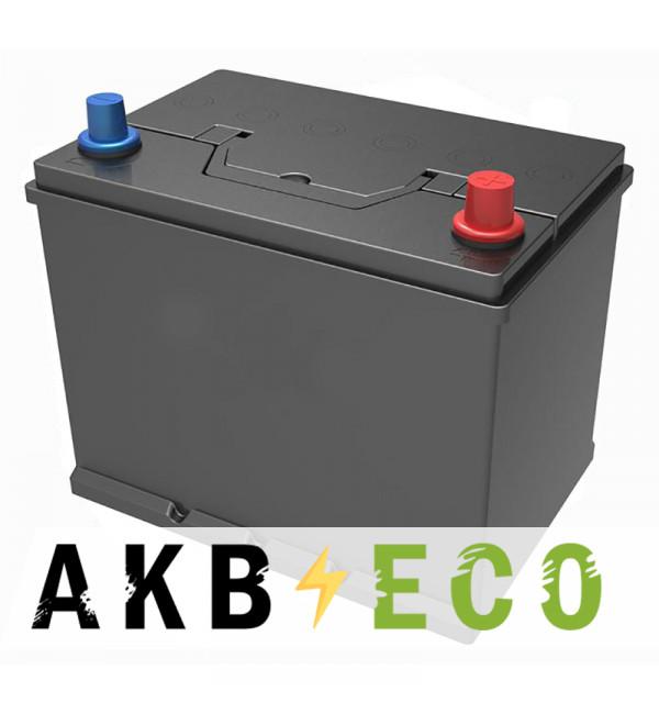 Автомобильный аккумулятор Подменный D26 обр. пол. (260x173x225) нижнее крепл. 68-75 Ач