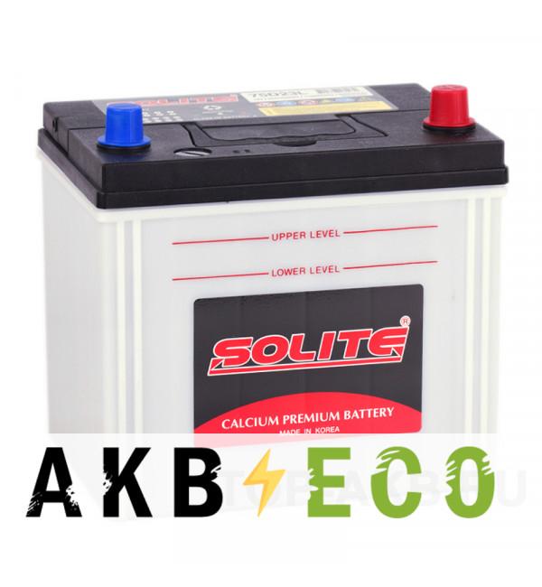 Автомобильный аккумулятор Solite 75D23L (65R 550A 230x168x225)