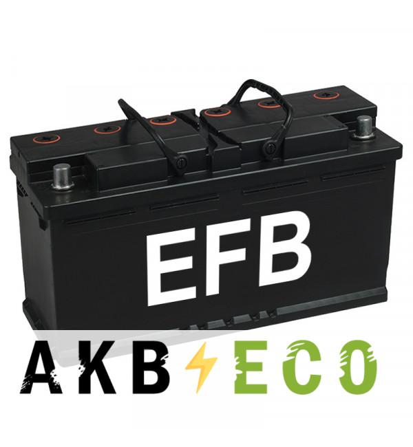 Автомобильный аккумулятор Подменный L6 EFB обр. пол. (393x175x190) 105-110 Ач