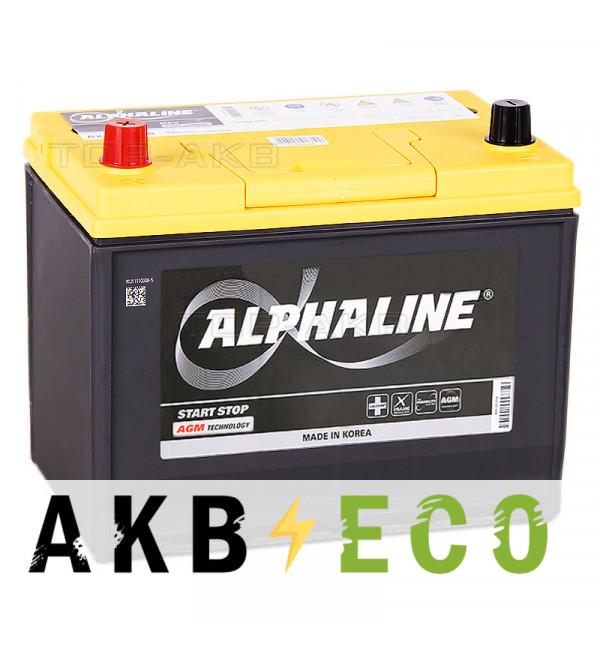 Автомобильный аккумулятор Alphaline AGM D26R 75L 720A 260x172x220 Start-Stop