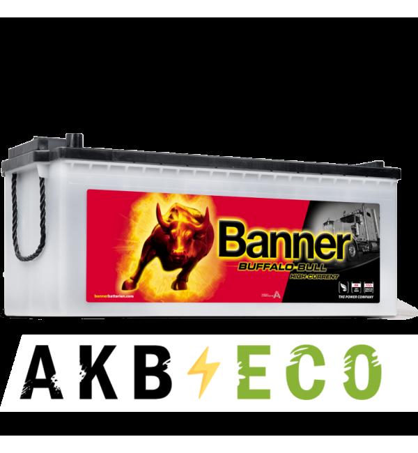 Автомобильный аккумулятор BANNER Buffalo Bull (680 11) 180 евро 1400A 514x223x220 HIGH CURRENT