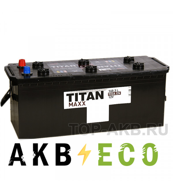 Автомобильный аккумулятор Titan Maxx 140 евро 900А 513x190x230