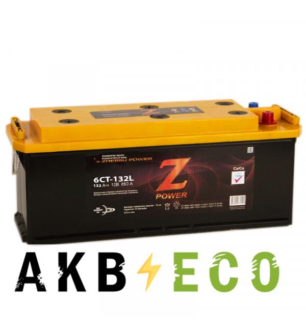 Грузовой аккумулятор Z-Power 132 евро 850A 513x190x230