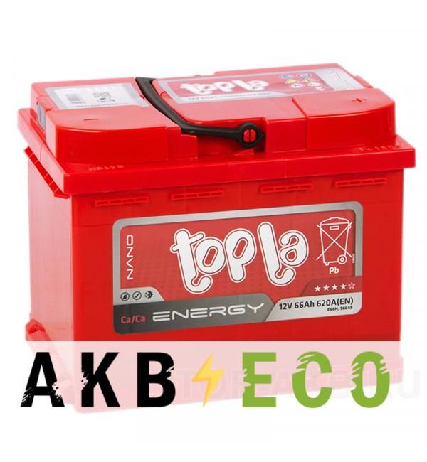 Автомобильный аккумулятор Topla Energy 66R (620A 242x175x190) 108066 56649