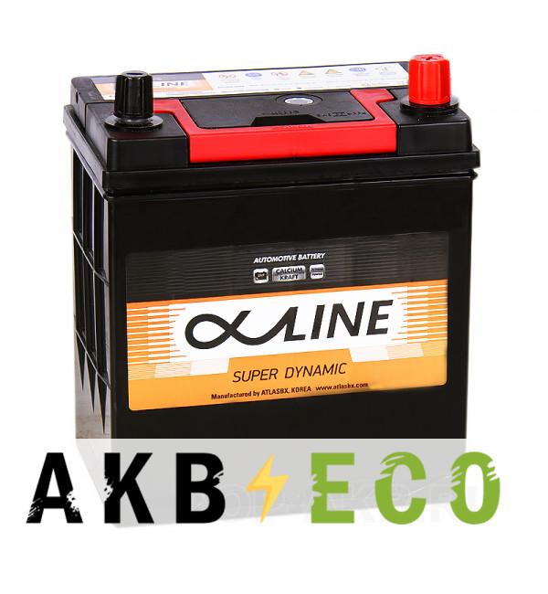 Автомобильный аккумулятор Alphaline SD 46B19L 44R 400A 186x127x220