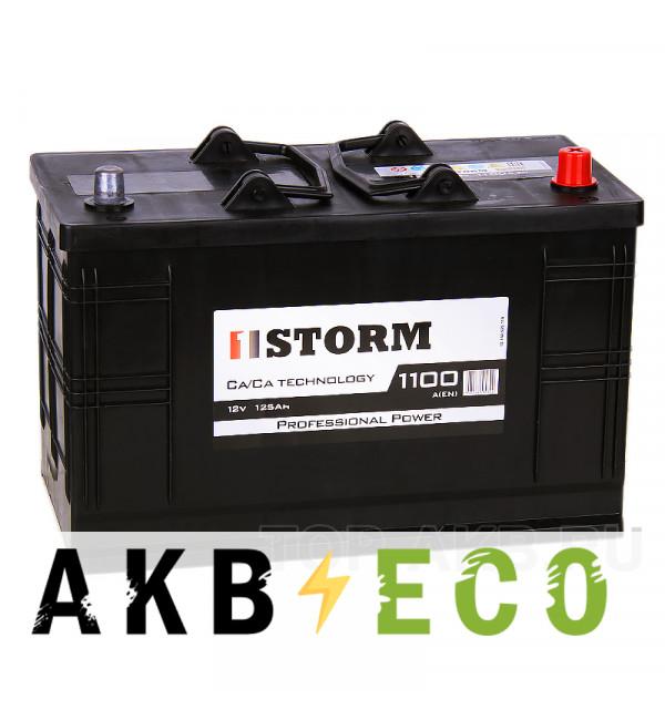 Автомобильный аккумулятор Storm Asia 125R 1100A 350x175x230