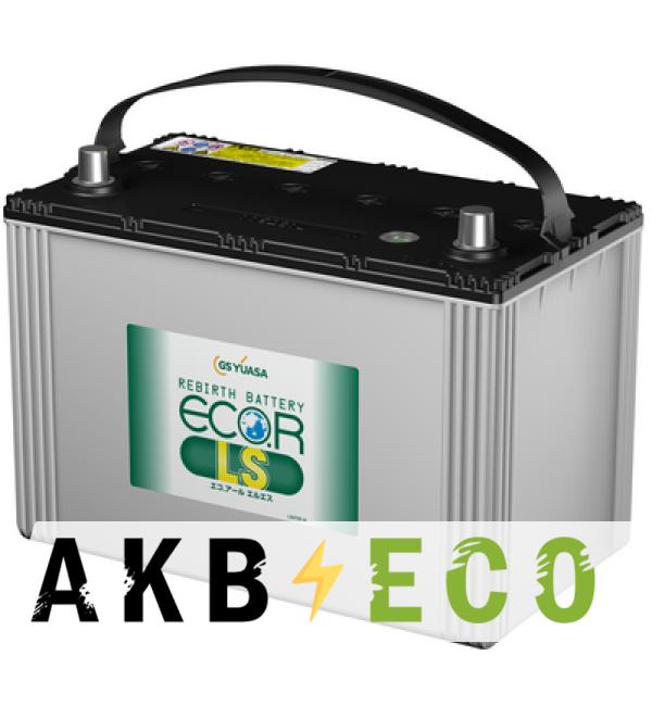 Автомобильный аккумулятор GS-Yuasa ELS-120D31L (95R 865A 304x171x221) ECO.R LS
