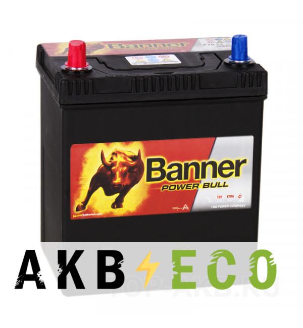 Автомобильный аккумулятор BANNER Power Bull (40 27) 40L 330A 187x127x227