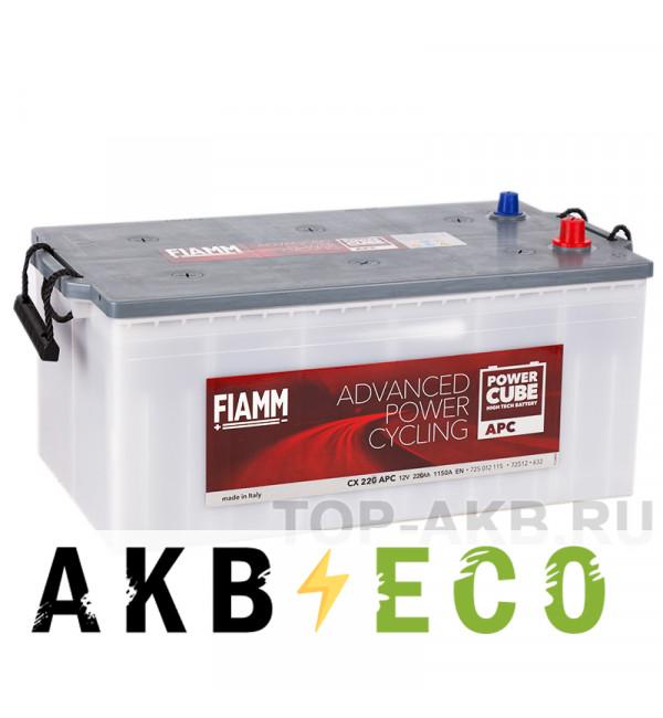 Автомобильный аккумулятор Fiamm Power Cube 200 евро 1150A (518x276x242) Heavy Duty CX200EHD