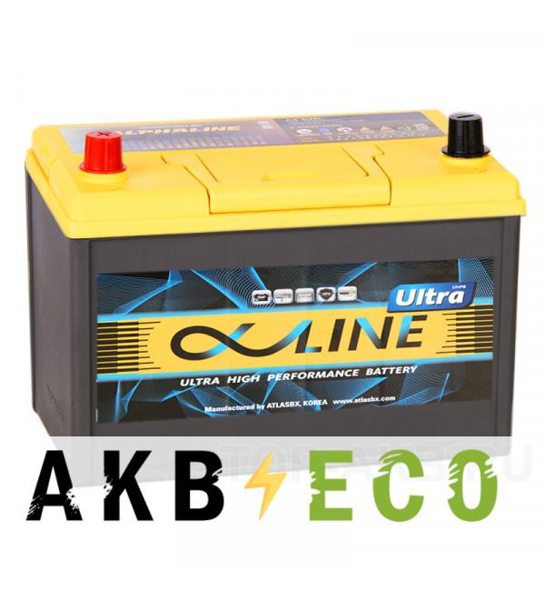 Автомобильный аккумулятор Alphaline Ultra 135D31R 105L 900A 306x173x225