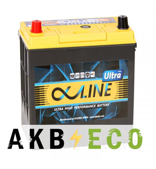 Автомобильный аккумулятор Alphaline Ultra 55B19R 50L 440A 187x127x225
