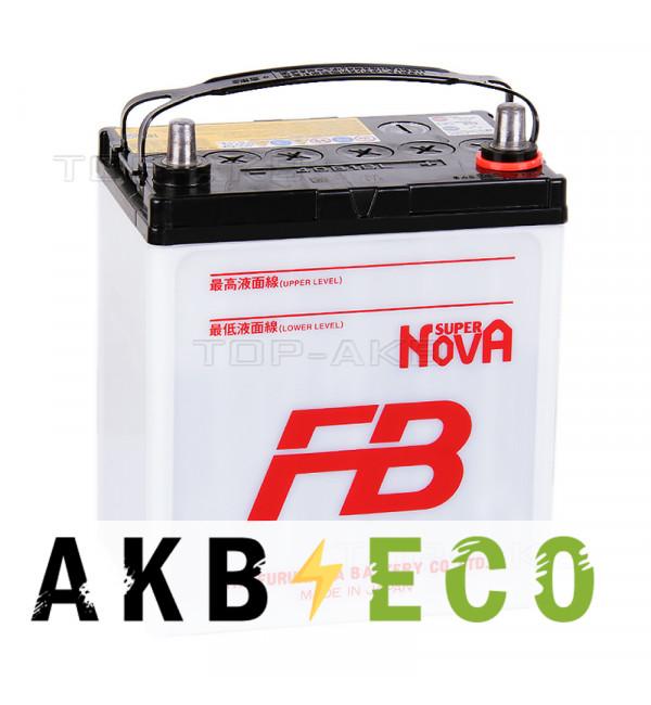 Автомобильный аккумулятор FB Super Nova 40B19L (38R 330A 187x127x227)