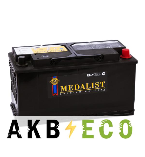 Автомобильный аккумулятор Medalist 60038 (100R 850A 354x175x190)