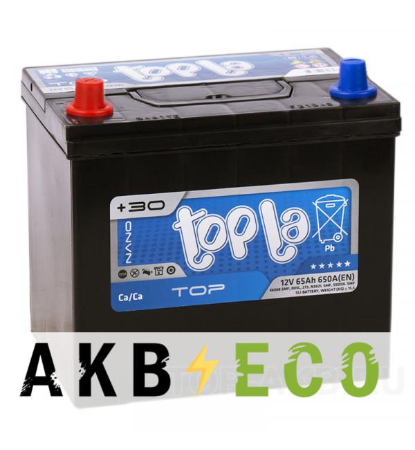 Автомобильный аккумулятор Topla Top JIS 65L 650А 230x173x220 (118765 56569)