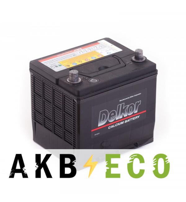 Автомобильный аккумулятор Delkor 26-550 (60L 550А 206х172х205)