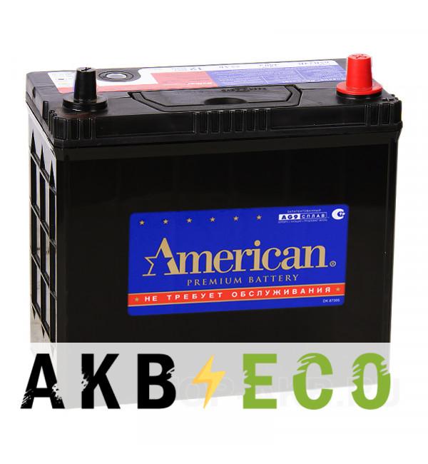 Автомобильный аккумулятор American 70B24L (60R 510A 238x129x227)