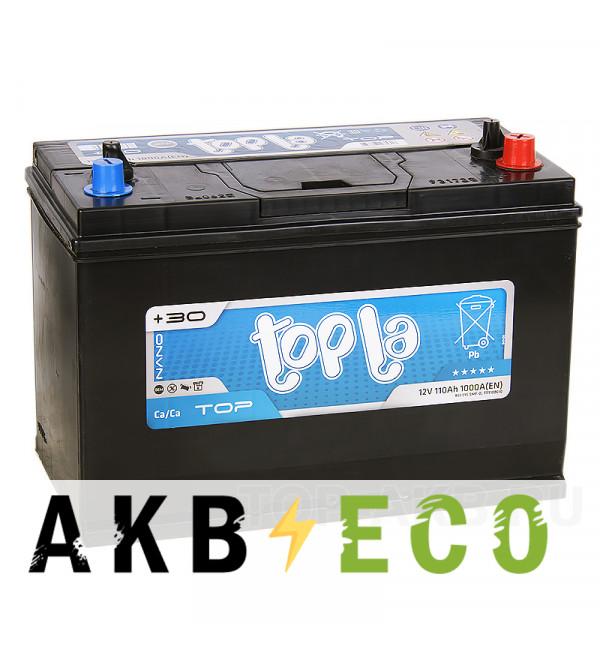 Автомобильный аккумулятор Topla Top TT110BCID конус и резьба (110R 1000А 330x173x237) 118610 BCI31S SMF-D