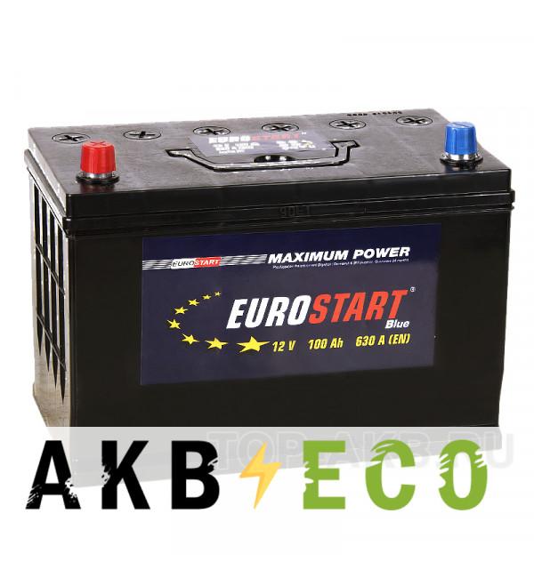 Автомобильный аккумулятор Eurostart Asia 100L (630А 306x173x225)