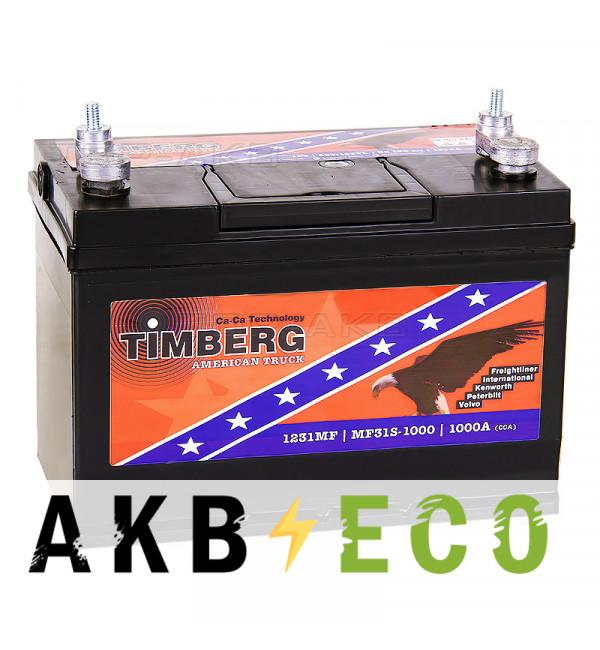 Автомобильный аккумулятор Timberg American Truck 31S-1000 (105VL 190 min 1000A 330x171x241) 1231MF