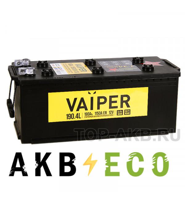 Грузовой аккумулятор Vaiper 190 рус 1150А 513x223x223