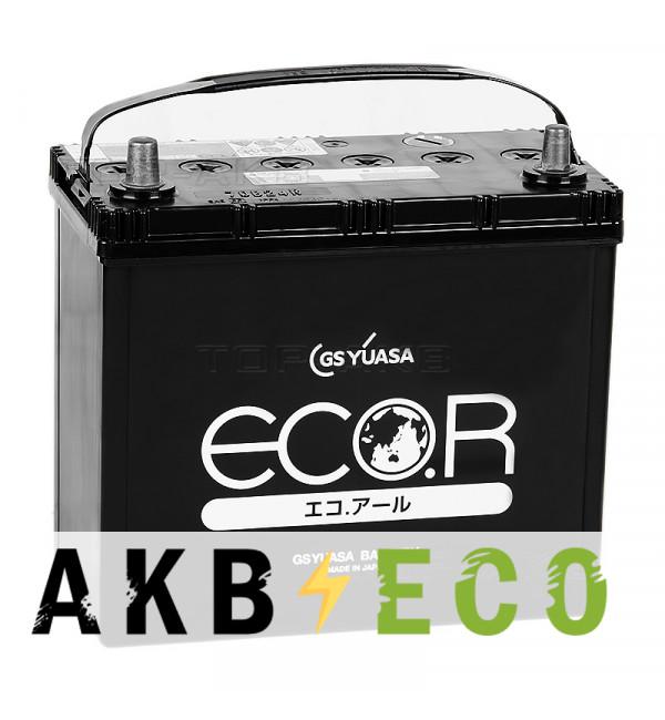 Автомобильный аккумулятор GS Yuasa EC 70B24R (52L 500A 238x128x227) ECO.R (EC)